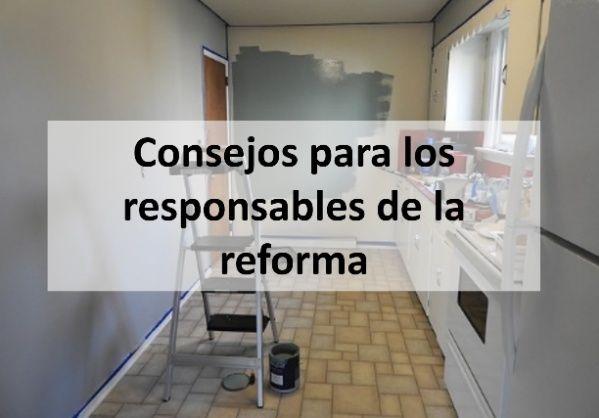 consejos en caso de reformas